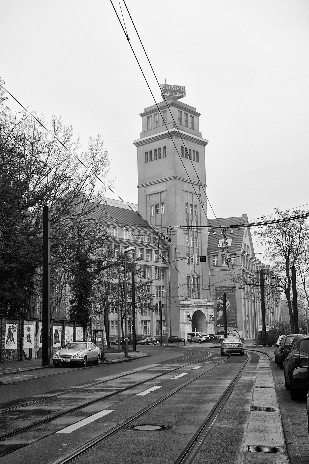 Berlin - Behrensbau, Peter Behrens