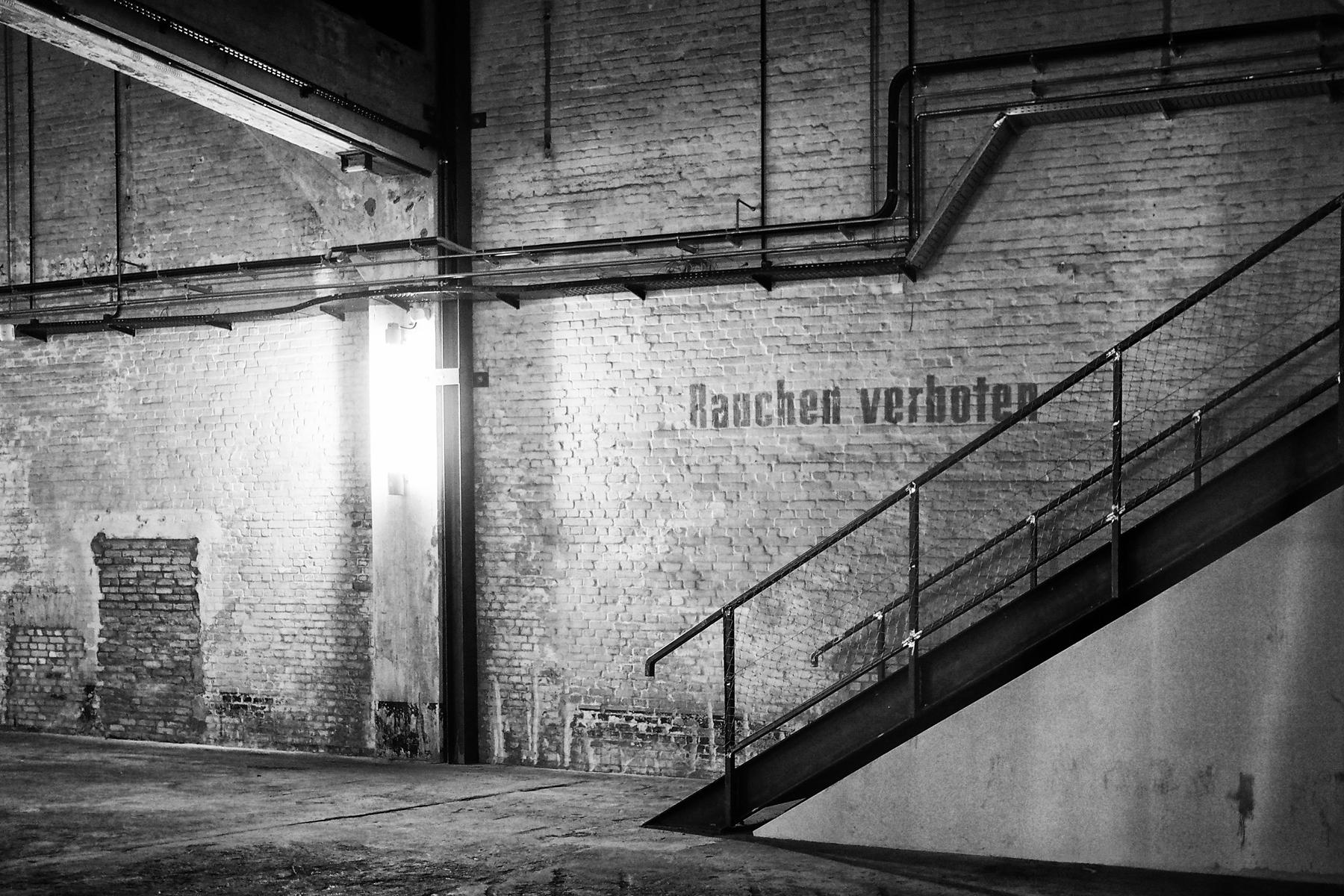 Berlin - Shedhalle Funkhaus, Monom