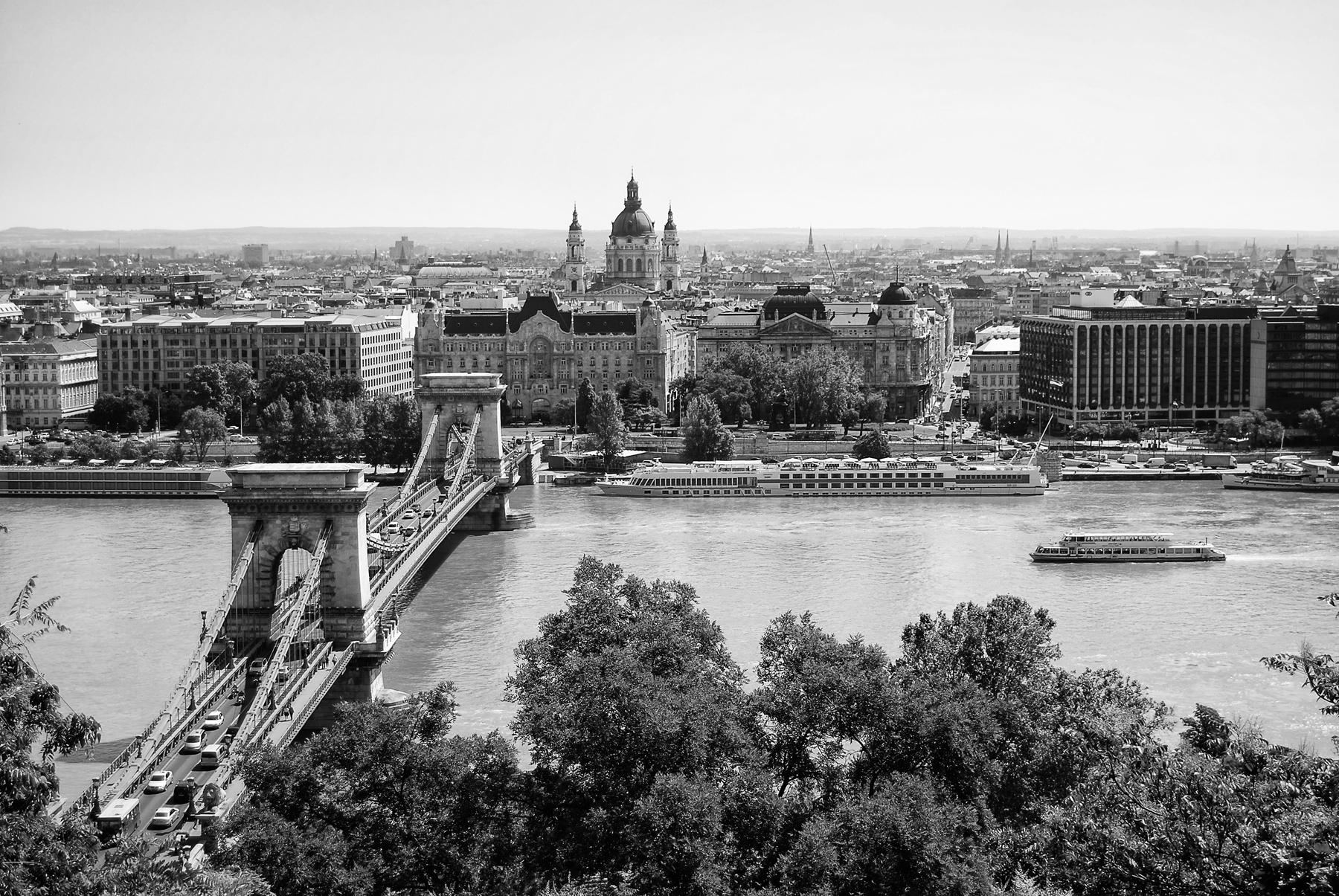 Budapeszt - most Szechenyego