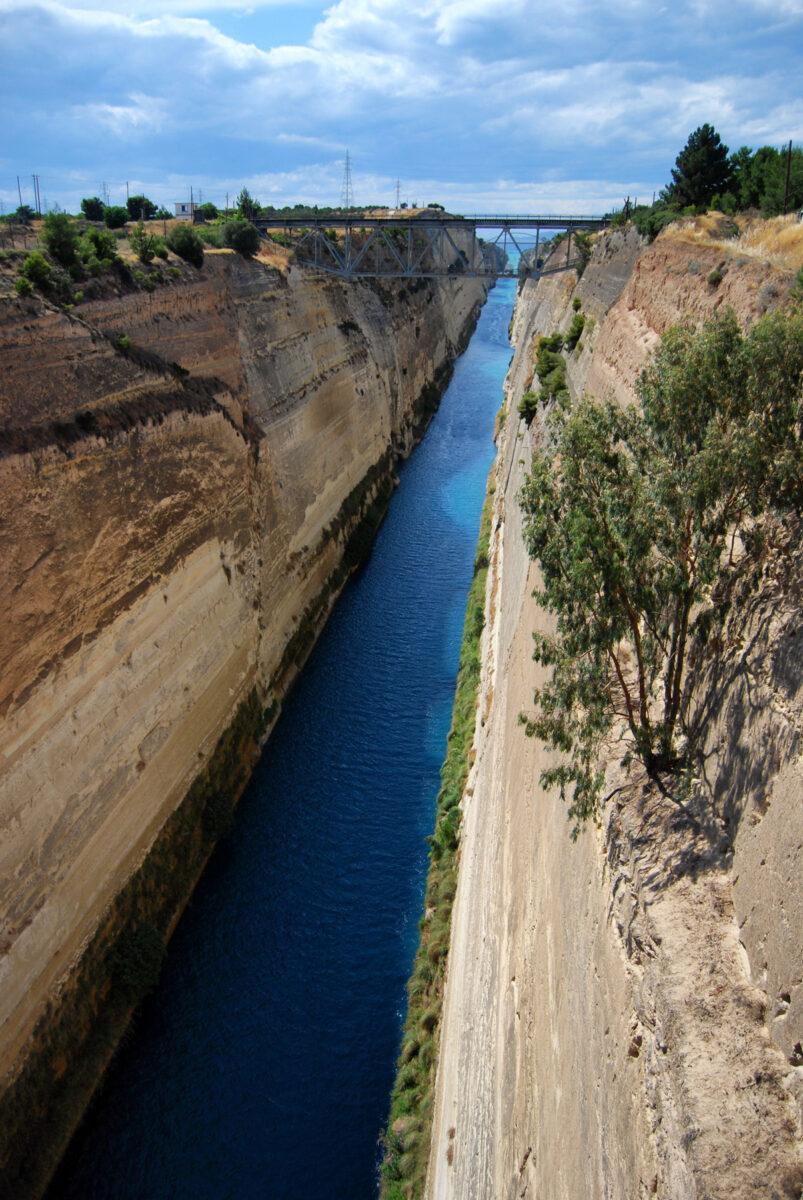 Grecja - Kanał Koryncki