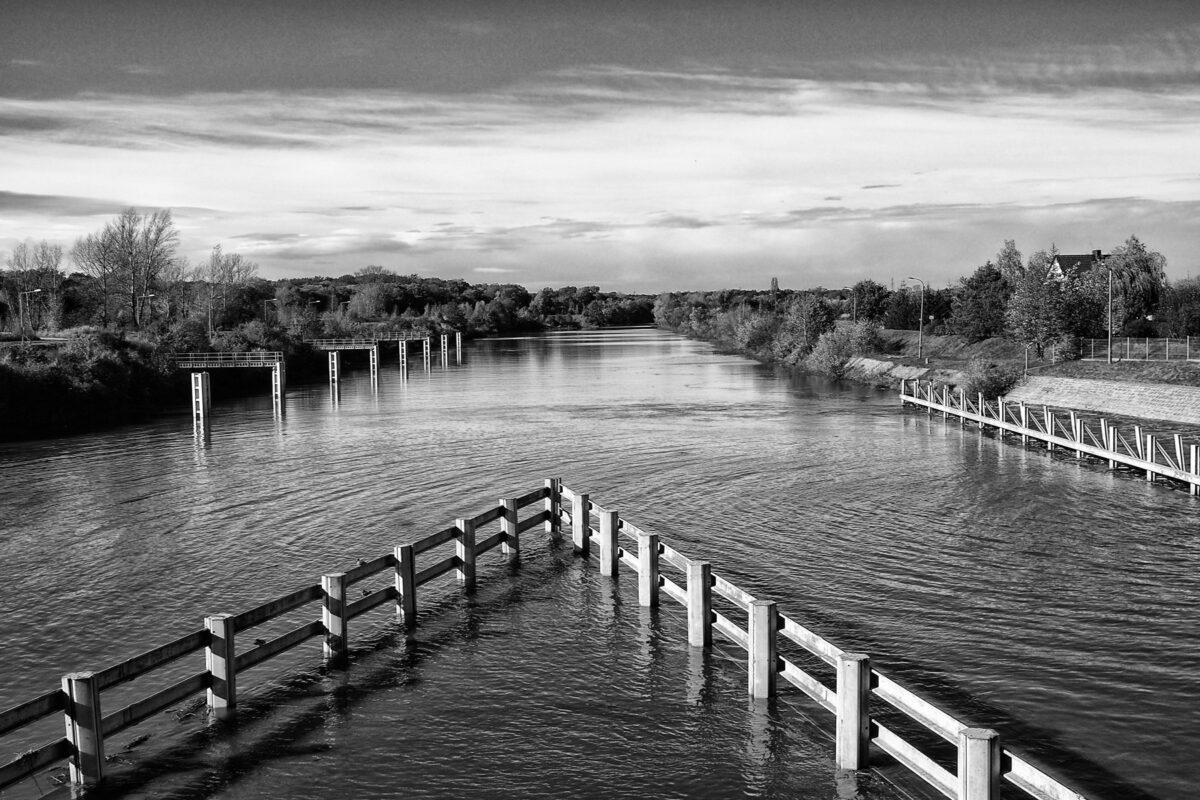 Jeszkowice - stopień wodny Janowice